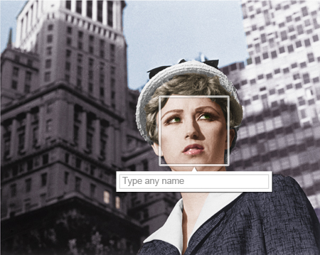 Type any name (Cindy Sherman)