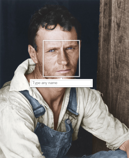 Type any name (Walker Evans)